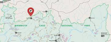 Caves In Tennessee Map by Horse Trails And Maps At Mammoth Cave Horse Camp