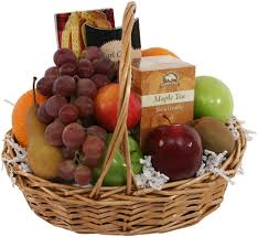 Sympathy Fruit Baskets Fruit Tea U0026 Cookie Basket Sympathy Fruit U0026 Gourmet Gift Baskets