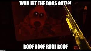 Who Let The Dogs Out Meme - duck season vr meme by bigjawthereptile on deviantart