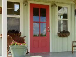 green front porch light red front door on a light green house red front door pinterest