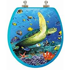 themed toilet seats topseat 3d series toilet seat w chromed metal hinges