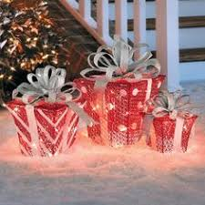Red And White Outdoor Christmas Decor by Canadian Geese Christmas Decoration Set Of 2 Outdoor Christmas