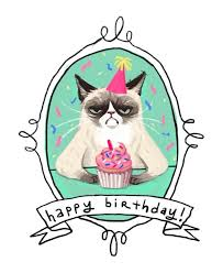 19 Awesome Grumpy Cat Christmas - 28 awesome cat birthday cards wedding and birthday ideas