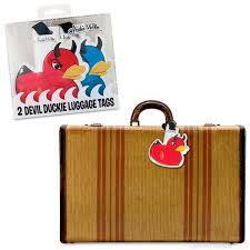 duckie luggage tags archie mcphee co