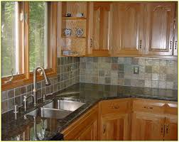 slate tile kitchen backsplash slate tile backsplash ideas home design ideas