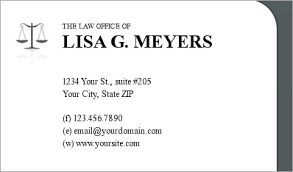 Lawyer Business Card Design Lawyer Business Cards Business Cards For Attorneys