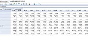 resource capacity planning tools excel template and machine