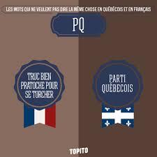 Meme Chose - 10 mots québec vs france agnès s envole