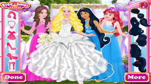 disney princess bridesmaids princess aurora ariel belle and