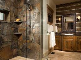 cabin bathrooms ideas rustic cabin bathroom ideas photogiraffe me