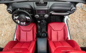 Jeep Wrangler Leather Interior 2013 Jeep Wrangler Rubicon 10th Anniversary Edition First Drive