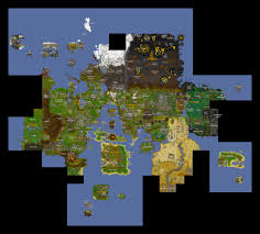 Crafting Dead Map Runescape World Map A Complete Map Of Runescape