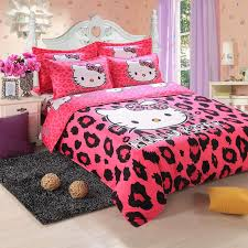 hello kitty bed set queen size 1678