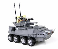 brickmania jeep instructions custom gray lav 25 marine military armored vehicle made with real