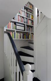 gallery of staircases with built in shelving units full home living