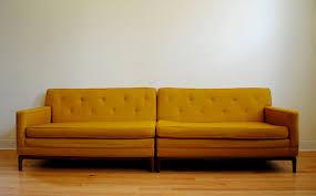 Yellow Sleeper Sofa Sofa Small Mid Century Chair Mid Century Retro Sofa Mid Century
