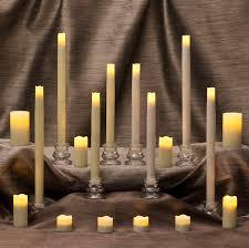 decor u0026 tips flameless tea lights and led pillar candles with