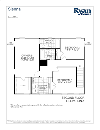ryan homes floor plans ryan homes sienna floor plan u2013 home design