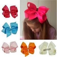 ribbon hair clip new big ribbon hair bows boutique hair clip hairpin baby