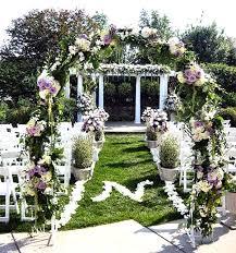 wedding arch entrance 43 best outdoor wedding entrance ideas pink lover