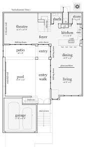 beach house plans narrow lot floor collection modern pictures