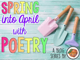 the primary peach spring into april writing poetry with kids