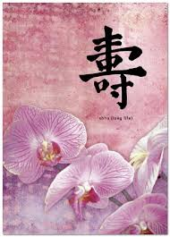 chinese birthday card new high quality chinese writings happy