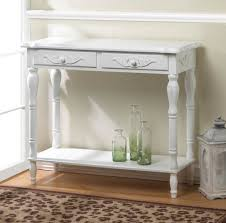 White Entry Table by Carved White Hallway Table Wholesale At Koehler Home Decor