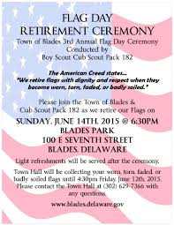 Deleware Flag Events Town Of Blades Sussex County Delaware