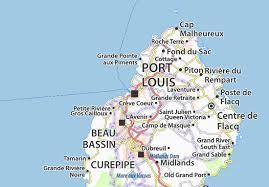map port map of port louis michelin port louis map viamichelin