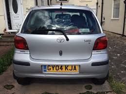 toyota yaris t3 2004 full service history low miles 1 2