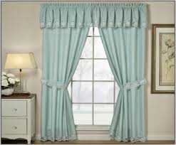 cozy sheer curtains with attached valance 10 sheers with