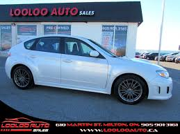 used 2013 subaru impreza wrx for sale milton on