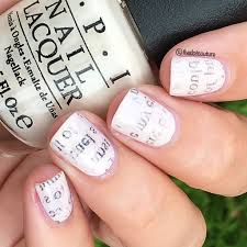 newspaper nail art without alcohol gallery nail art designs