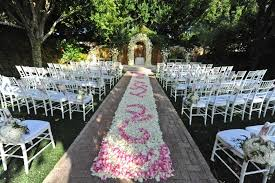 Wedding Aisle Ideas Outdoor Wedding Aisle Decorations Making The Outdoor Wedding