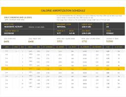 Amortization Calculator Excel Template Health And Fitness Office Com