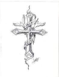 cross two doves by massermane on deviantart