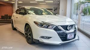 white nissan 2016 white plains nissan u0027s 2016 nissan maxima putting the u201cfun u201d in