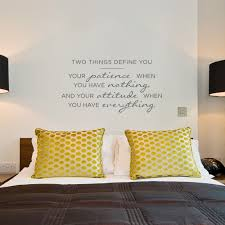 two things define you wall quote decal wall quote decal