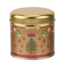 spode christmas tree candle tin spruce pine spode uk