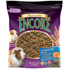brown u0027s premium encore guinea pig food shop small pet food and