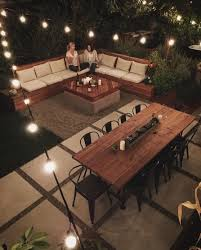 Awesome Backyards Ideas Awesome Backyard Idea Can T Forget The Sectional Table And
