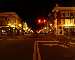 Main Street Lighting Davis And Main Small Towns Virginia And Main Street