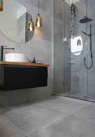 Tile On Wall In Bathroom Best 25 Grey Floor Tiles Bathroom Ideas On Pinterest Inspired