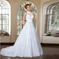 halter neck wedding dresses halter neck sleeveless new designed 2 pieces bridal dress