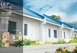 Row House Model - le moubreza axeia house u0026 lot for sale in sto tomas batangas