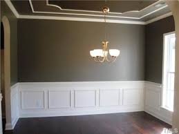 tray ceiling crown molding white ceiling surrounding color in