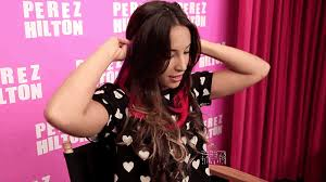 demi lovato hair extensions exclusive youtuber dallas shares fab style tricks to pull