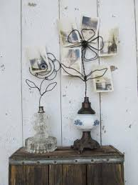 bf602e1ad7087c81f2a45ceefe133db1 wire flowers old lamps jpg