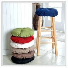 bar stool round bar stool cushions with ties round bar stool